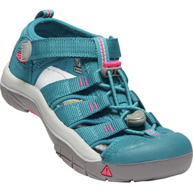 Keen Newport H2 Sandals Ungdom deep lagoon/bright pink